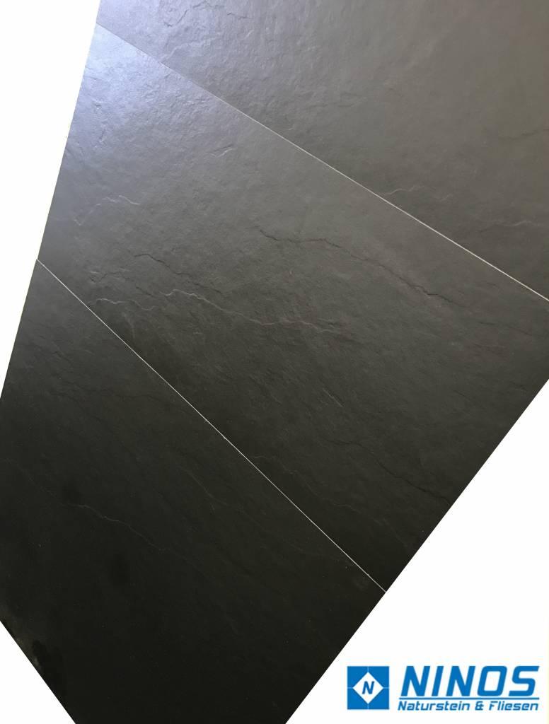 Ardesia Schieferoptik Black Bodenfliesen