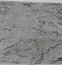 Meera White Granite Tiles Polished Chamfer Calibrated 1. Keuz in 30,5x30,5x1cm