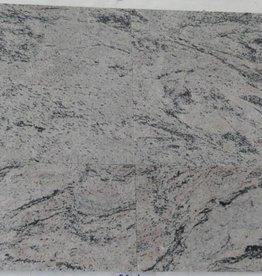 Meera White Natuursteen Tegels Gepolijst Facet Gekalibreerd 30,5x30,5x1cm