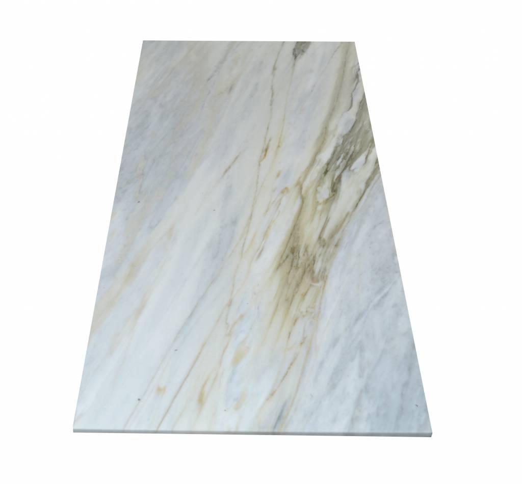 Calacatta Bluette Marble stone tiles