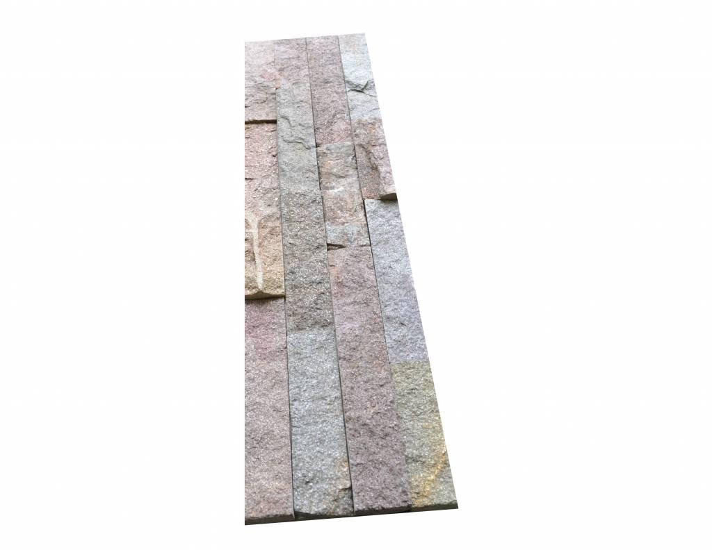 Briques mur de pierre Quarzit Brickstone Rusty