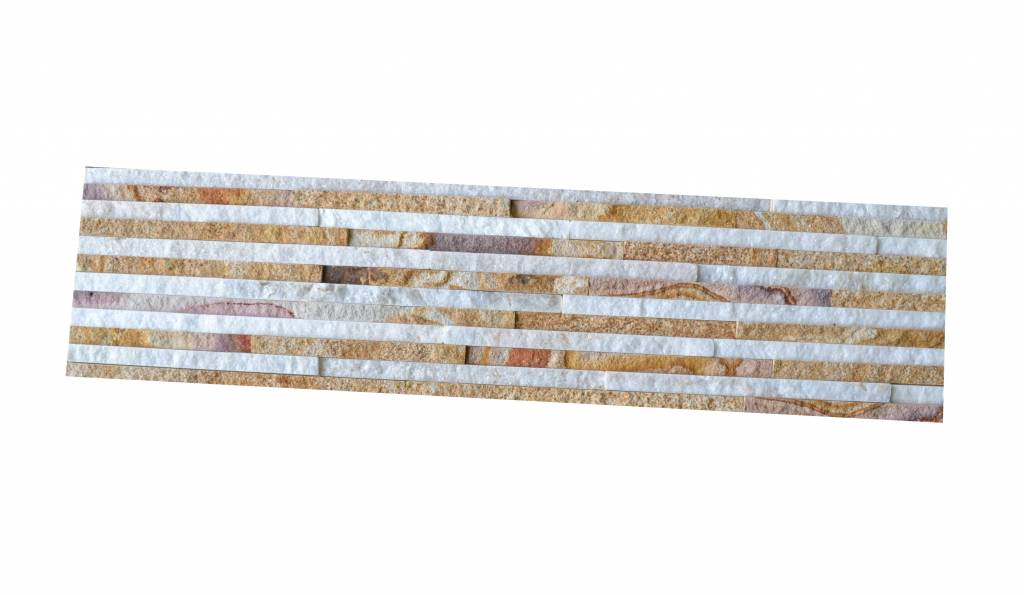 Wall bricks stone panels Sandstone Wooden Slim