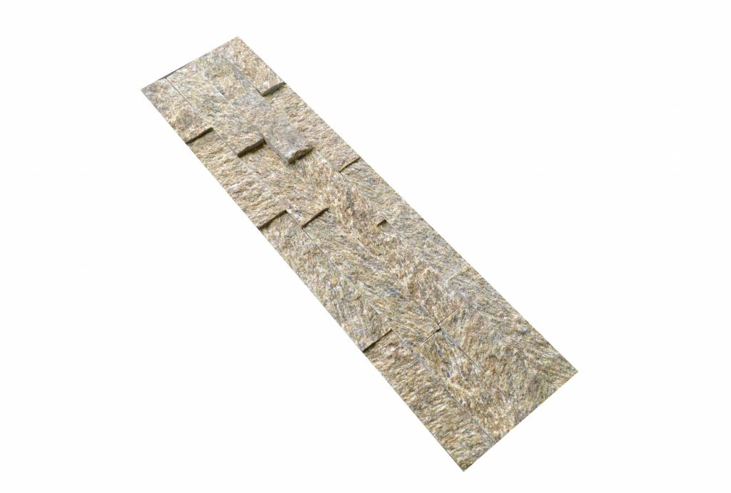 Brickstone Tiger Yellow Nauursteen Steenstrips