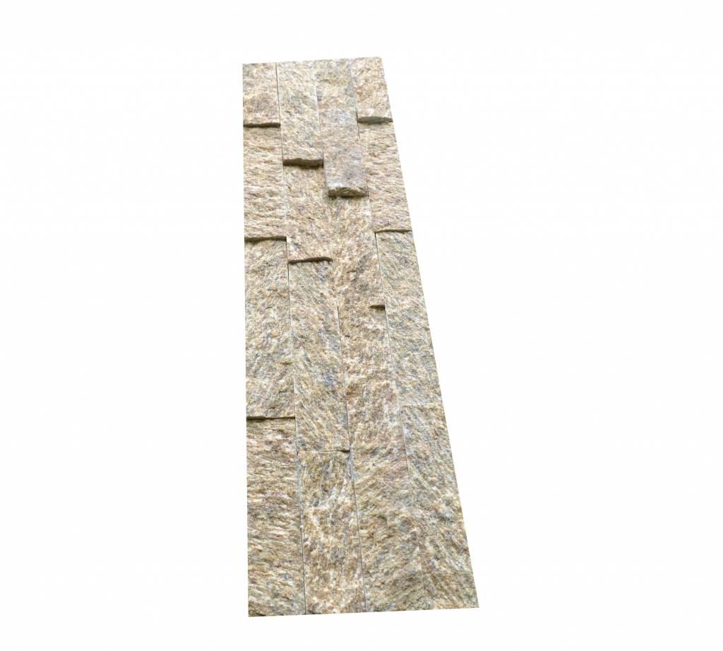 Brickstone Tiger Yellow Naturstein Verblender Wandverblender