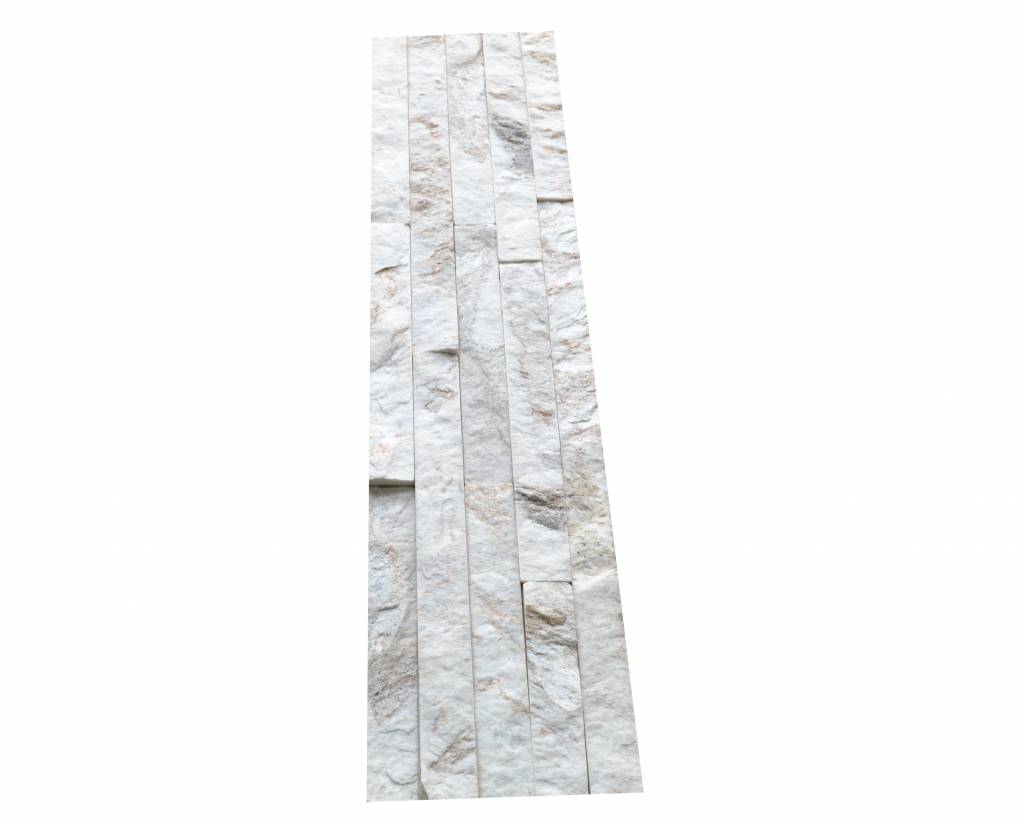 Wall bricks stone panels Quarzite White Gold