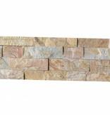 Wall bricks stone panels Quarzite New Beige