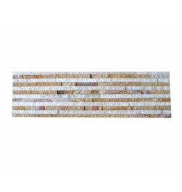 Brickstone Sandstone Wooden Slim cegły kamienia naturalnego 1 Wybór w 55x15 cm