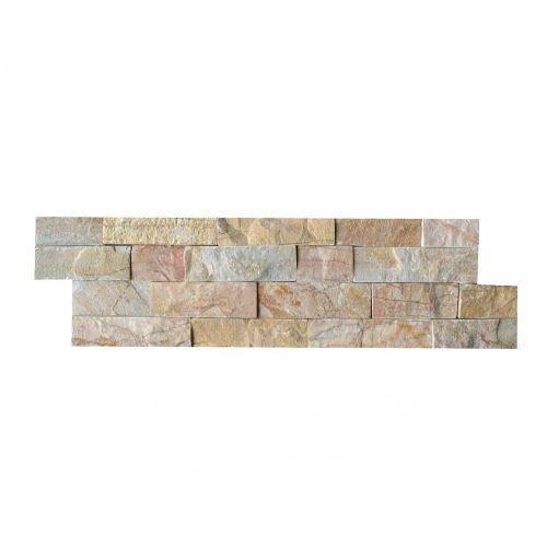 Brickstone New Beige Quarzit Naturstein Verblender Wandverblender