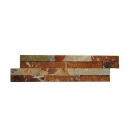 Briques mur de pierre Brickstone Ardoise Multicolor 1. Choice dans 55x15 cm