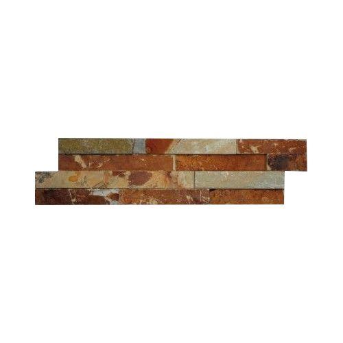 Brickstone Lupek Multicolor cegły kamienia naturalnego