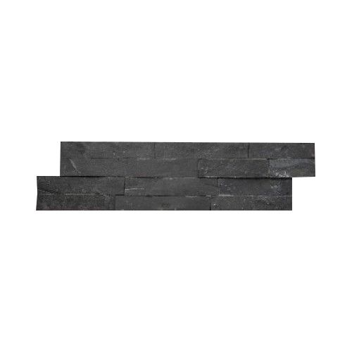 Wall bricks stone panels Black Slate