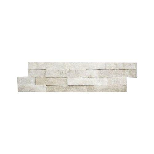 Wall bricks stone panels Quarzite White