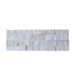 Neapel White Nauursteen Steenstrips 1. Keuz in 55x15 cm