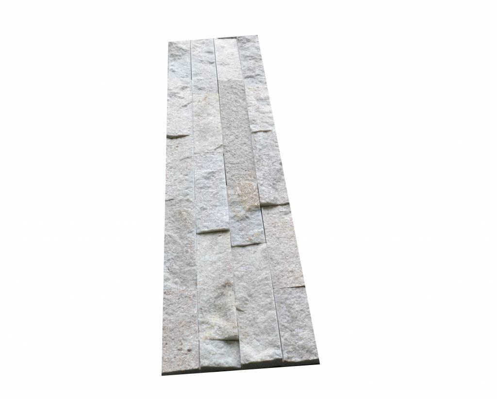 Briques mur de pierre Rock Creme