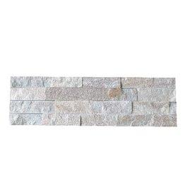 Briques mur de pierre Rock Creme 1. Choice dans 55x15 cm