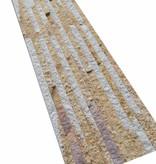Briques mur de pierre Sand Creme