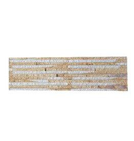 Sand Creme Naturstein Verblender 1. Wahl in 55x15 cm