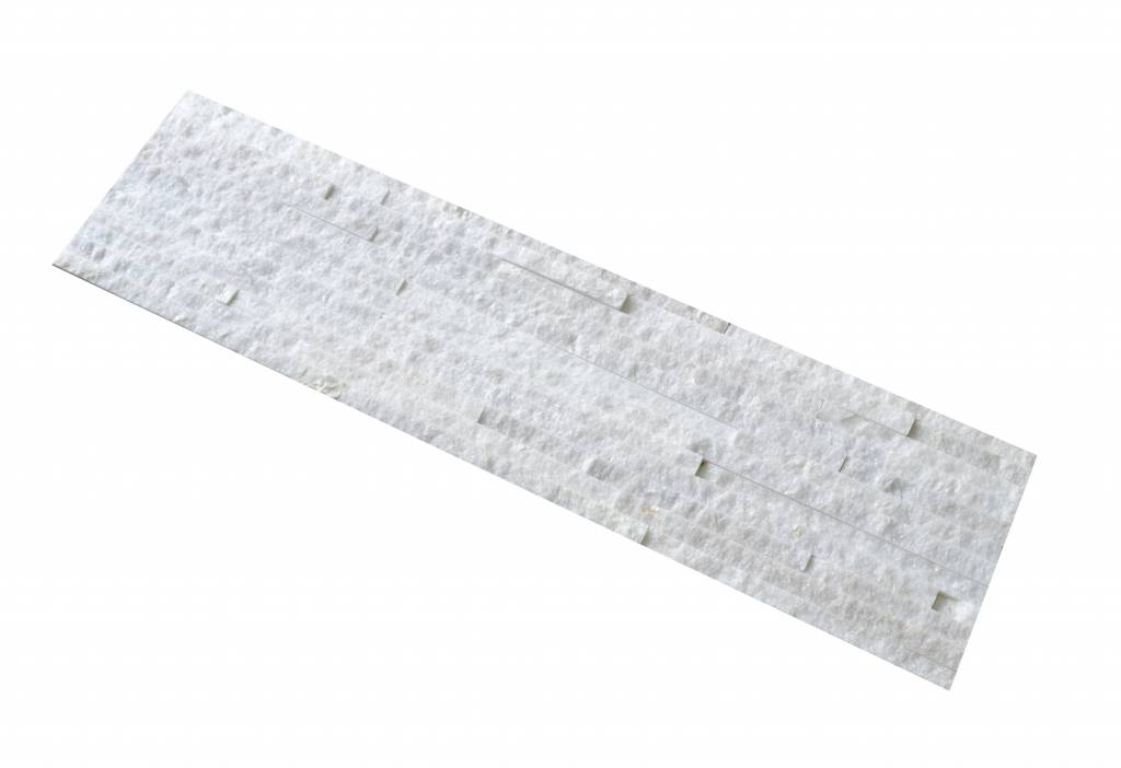 White Slim Naturstein Verblender