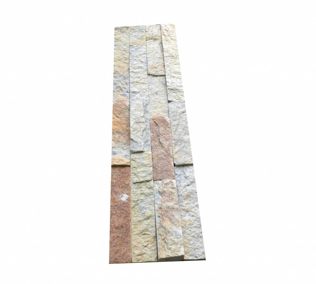 Rustic Naturstein Verblender Wandverblender