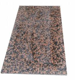 Balmoral Red Dalles en granit, 2. Choice dans 61x30,5x1cm