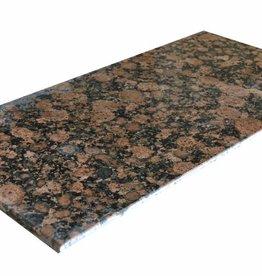 Baltic Brown Granite Tiles, 2. Choice in 61x30,5x1cm