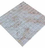 Ivory Brown Granit mosaic tiles