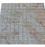 Ivory Brown Granit Mosaïque Carrelage