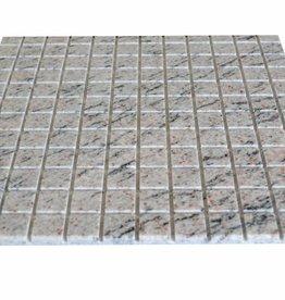 Mera White Granit mosaic tiles 1. Choice in 30x30 cm