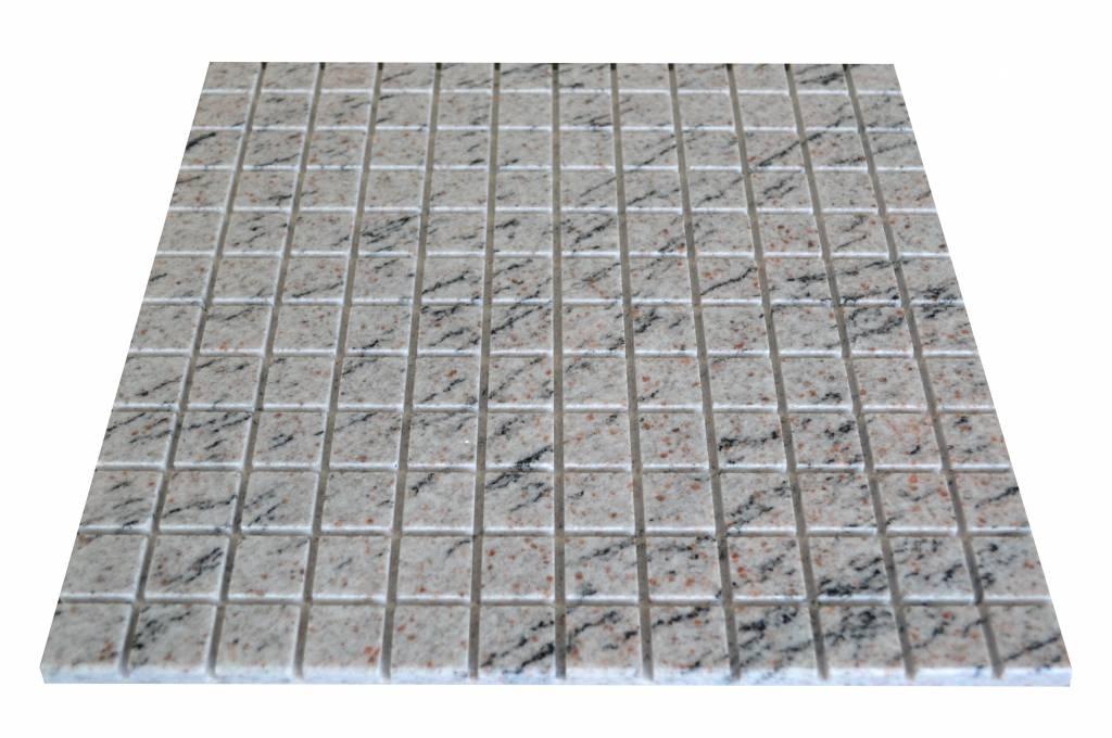 Mera White Granit mozaiki