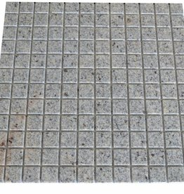 New Kashmir Cream Granit mosaic tiles 1. Choice in 30x30 cm