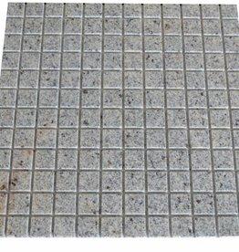 New Kashmir Cream Granit mosaic tiles 1. Choice in 30x30 cm