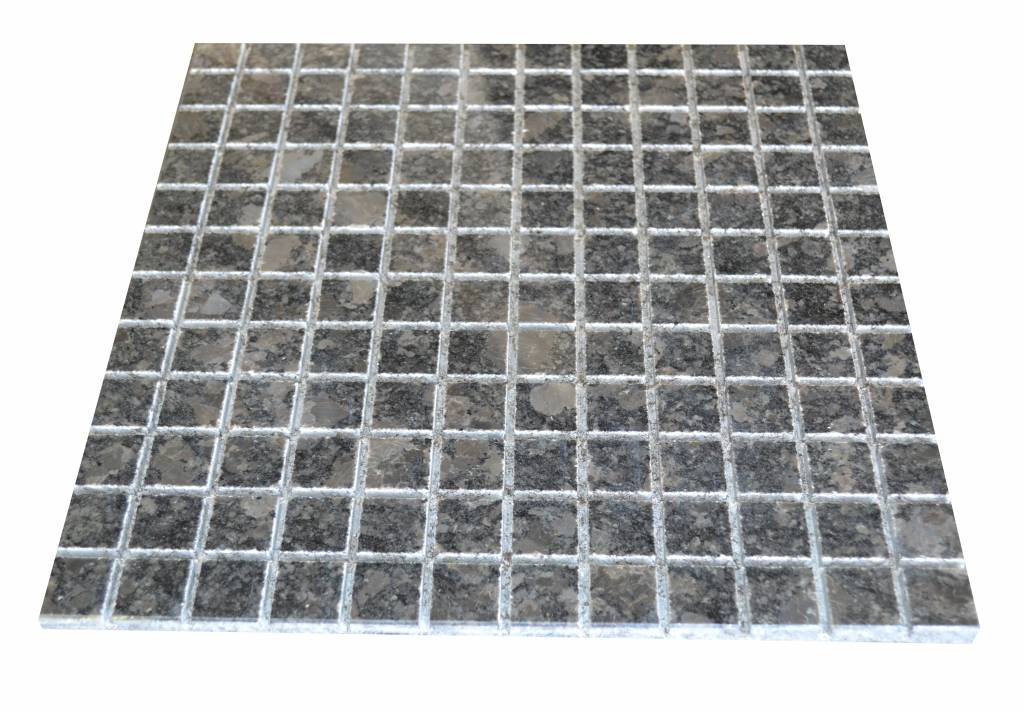 Steel Grey Granit mosaic tiles