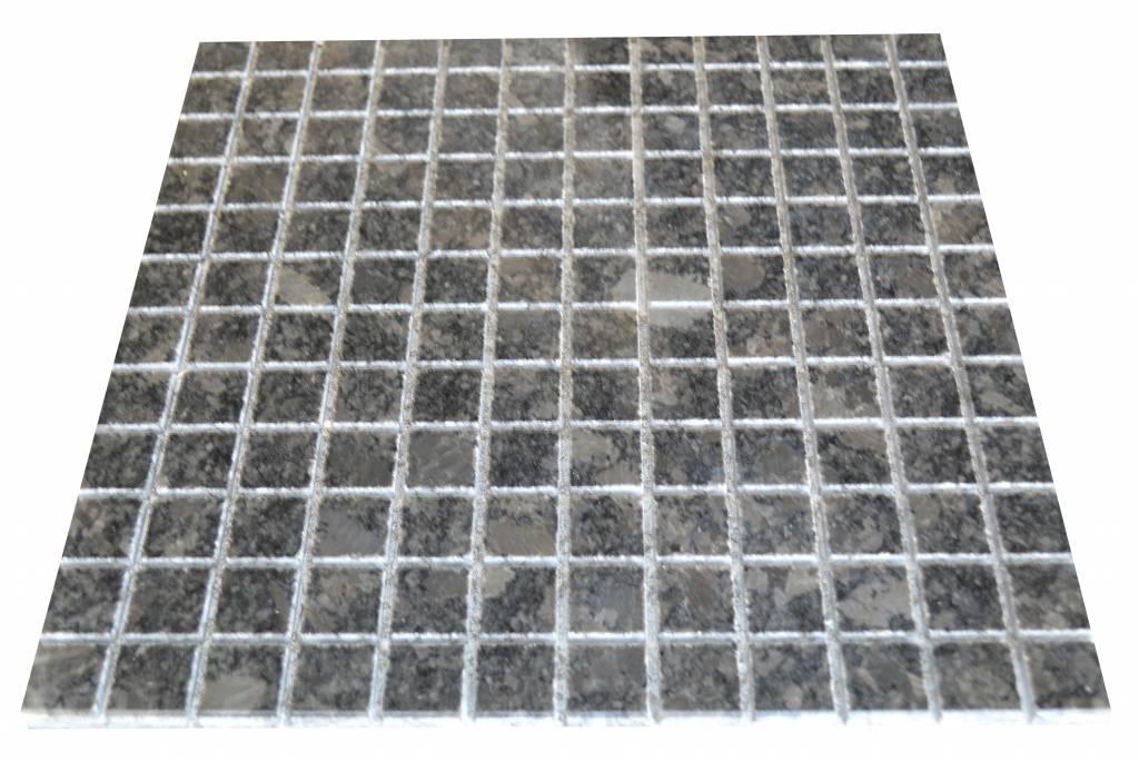 Steel Grey Granit Mosaïque Carrelage