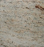 Shivakashi Ivory Brown Granitsockel, Poliert, Gefast, Kalibriert, 1. Wahl