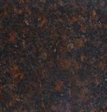 Tan Brown Granite Socket, Polished, Preserved, Calibrated, 1st Choice