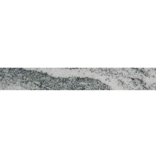 Viscont White Granitsockel, Poliert, Gefast, Kalibriert, 1. Wahl