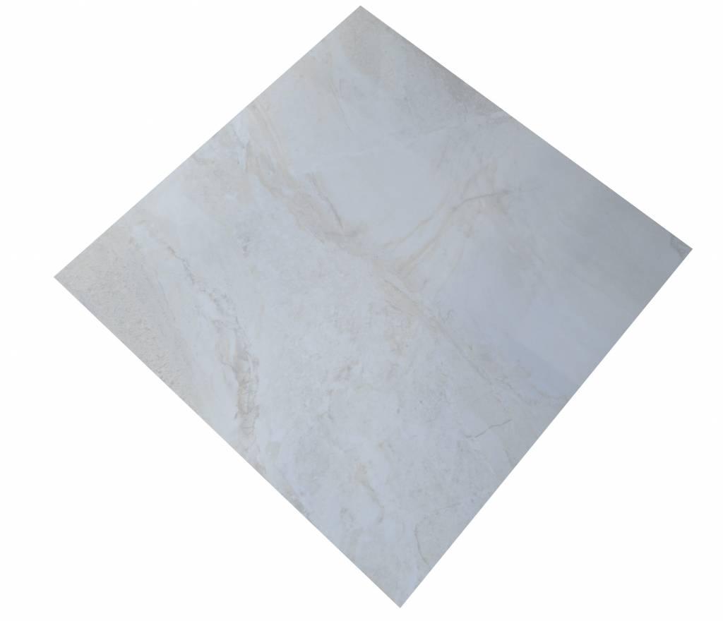 Axstone Lea Lorelei Geostone White Floor Tiles