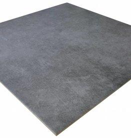 Lounge Beton Graphite Bodenfliesen Mat, Gefast, Kalibriert, 1.Wahl Premium Qualität in 61x61 cm