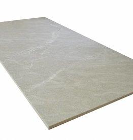 Ria Beige Bodenfliesen Poliert, Gefast, Kalibriert, 1.Wahl Premium Qualität in 90x45 cm