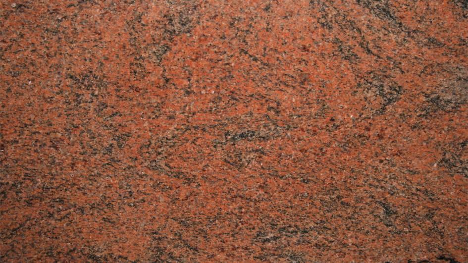 Multicolor Red comptoir en granit 1er choix