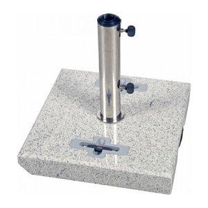 Doppler Parasolvoet graniet trolley vierkant 50 kg