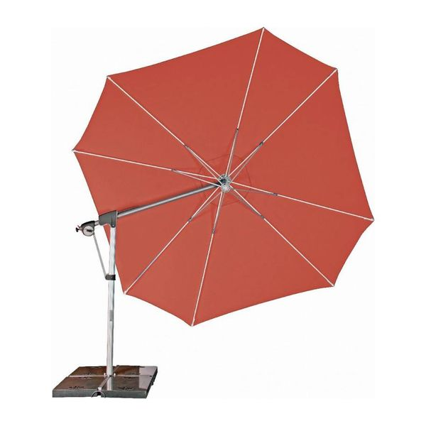 Zweefparasol PROTECT 400 cm rood