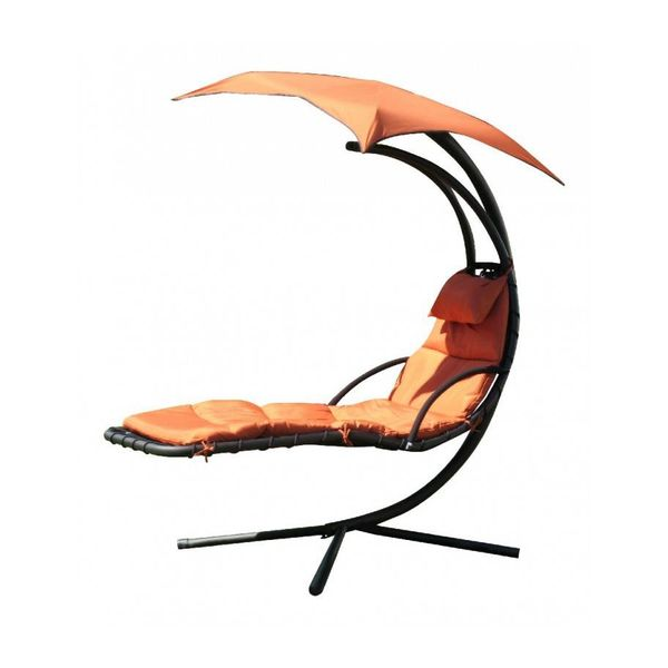 Leco Ligbed/Zweefbed Bird -  Terracotta