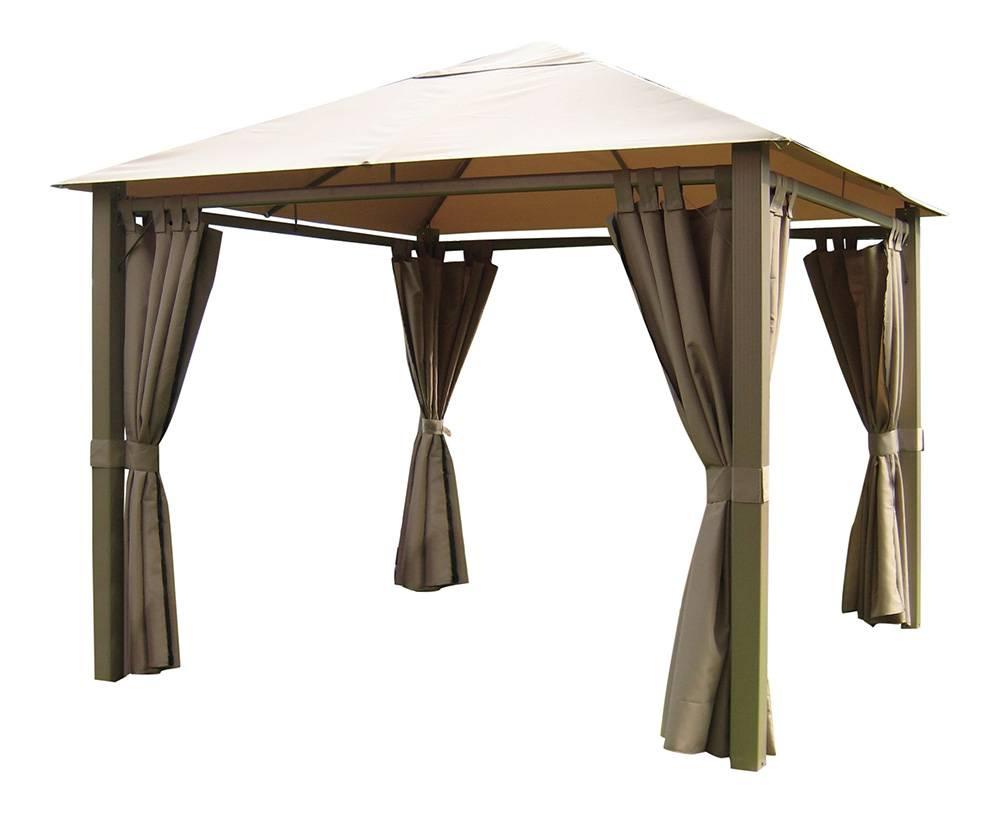 leco nomado paviljoen champagne taupe horticenter. Black Bedroom Furniture Sets. Home Design Ideas
