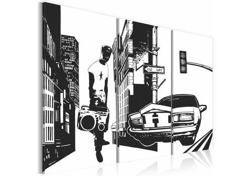 Schilderij - Urban gemak