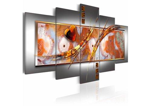 Schilderij - Oranje