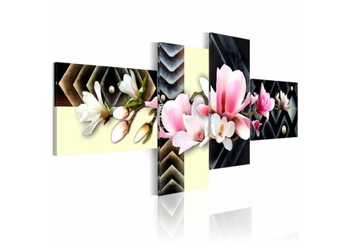 Schilderij - orchidee - modern