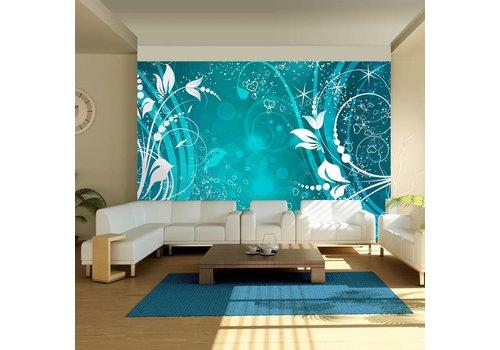 Fotobehang - Turquoise magic