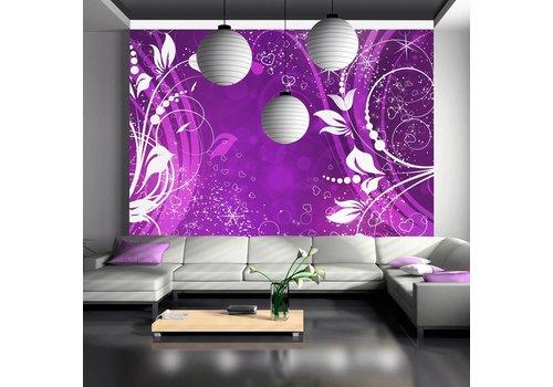 Fotobehang - Magic in paars
