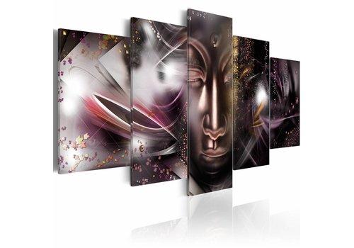 Schilderij - Boeddhistische staat van gelukzaligheid